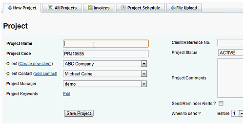 Create-a-project